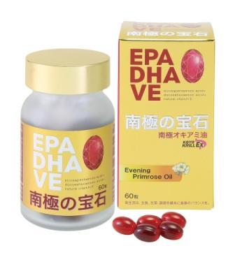 オメガ3脂肪酸(DHA・EPA)|南極の宝石(NKOサプリメント)